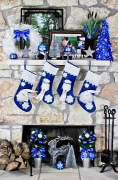 Top 40 Blue And White/ Blue And Silver Christmas Decoration IdeasNow that Christmas is round the corner, it's time to think about the decoration, especially the theme. This year, we'd suggest you to put aside the tradition color combination and try blue and white/silver color scheme. You May Also Like…