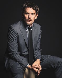 Ethan Hawke for Vanity Fair (Sept 2014) *