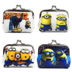 1 Piece Coin Purses Minion Square Hasp PVC Coin Purse Girls Minions Wallet Chilldren Minion Party Supplies Despicable me. Item Type: Coin PursesShape: SquareClosure Type: HaspItem Width: 2 cmItem Height: 8 cmGender: UnisexPattern Type: CharacterStyle: CasualMain Material: PVCItem Length: 8 cmItem Weight: 20 gMaterial Composition: pvcModel Number: minion purseBrand Name: Minionminion purse: minion purseCharacter: HaspCoin Purses: Coin PursesMinions: MinionsDespicable me: Despicable meHasp…