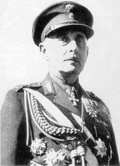 Alexander Papagos - Greek General in Greco-Italian War and Battle of Greece, Commander-in-Chief when war was declared. Was arrested and sent to German concentration camp. Repatriated 1945 and rejoined the Army.