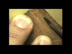 Hand Engraving - How To -- Video featuring the GRS Engraving Systems. Watch to get a better idea of how to hand engrave with our tools! Diy Jewelry Tools, Metal Jewelry, Jewelry Crafts, Handmade Jewelry, Jewelry Design, Jewelry Making, Engraving Tools, Metal Engraving, Wire Wrapped Jewelry