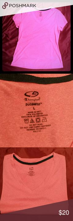 Champion T-shirt A new, never worn athletic shirt that is breathable and very cute Champion Tops Tees - Short Sleeve