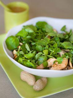 Salade de poulet à la vietnamienne - Recette de cuisine Marmiton : une recettec