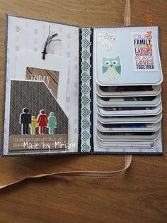 mini album Mini Album Scrapbook, Mini Albums Scrap, Photo Album Scrapbooking, Scrapbook Paper, Fun Fold Cards, Folded Cards, Pochette Photo, Tarjetas Diy, Homemade Birthday Cards