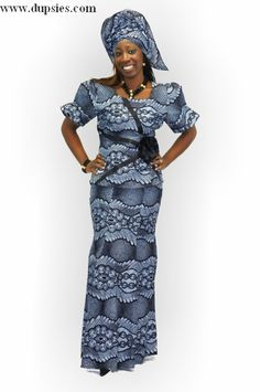 dupsie's african attire two pieces | Elegant African Print Attire