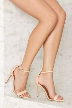 Nasty Gal Take a Hint Stiletto Heel