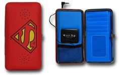 Superman Symbol Ladies Wallet with Speaker - Be a Superwoman $36.99