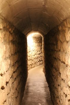 Dalton Gang created a hideout in Meade, KS and built an escape tunnel from the home of their sister, Eva Whipple, to the barn some 95 feet away where their horses could carry them away undetected by the law.  The tunnel was never discovered while the gang was alive.