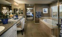Lennar homes master bath...ahhhhhhhhhh...time to relax :)