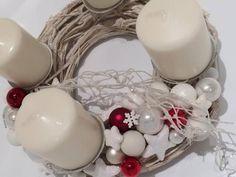 Adventný veniec. Autorka: hamidka. Vianoce, vianočná dekorácia, advent, adventný veniec. Artmama.sk