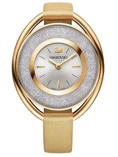 434c824f1ad7 SWAROVSKI CRYSTALLINE OVAL GOLD PLATED WATCH 5158972