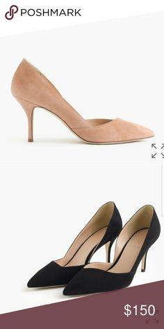 J. Crew d'Orsay pumps tan new New in box J. Crew Shoes Heels