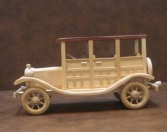 Wooden Family Roadster Free Personalization by PlayOnWoods