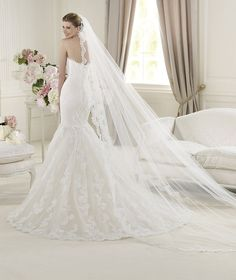 Pronovias presents the Urban wedding dress. Fashion 2013. | Pronovias is available at Patsy's Bridal in Dallas.
