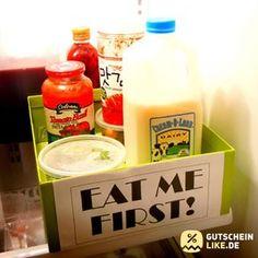 10 Methoden, um ein für allemal Ordnung im Kühlschrank zu schaffen #gutscheinlike #likeblog #kühlschrank #lustig #bilder #image #kitchen