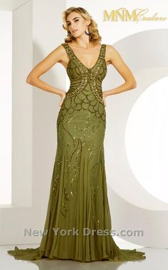 MNM Couture 7731 Lime