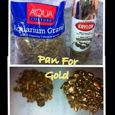 "pan for gold party game | ... used to make Gold for ""Panning for Gold game"" for our Western Party"