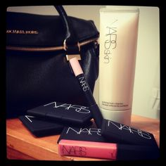 Ok so i am a little obsessed. A true NARSissist. Adding to the collection ... Nars skincare foaming facial cleanser, lipgloss, matte lip pencil, albatross highlighter (love!), laguna bronzer, blush and another highlighter in hungry heart. Try them! You wont regret it :)