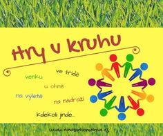 Hry v kruhu Back To School Activities, Activities For Kids, Crafts For Kids To Make, Diy And Crafts, Beautiful Love Pictures, School Clubs, School Psychology, Learning Games, Earth Day