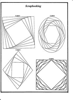 Iris folding frames