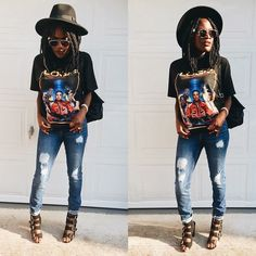 Ways to Wear Ripped Jeans 15