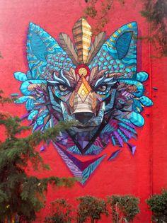 muralista mexicano Farid Rueda
