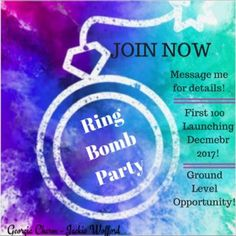 Join the Ring Bomb Party Team There is still time to ...