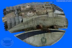 Galáctica - Cylon Raider - Galería (5) by Toromodel, via Flickr 70s Tv Shows, Sci Fi Tv Shows, Portrait Illustration, Art Illustrations, Fashion Illustrations, Battlestar Galactica Model, Kampfstern Galactica, Donk Cars, Warrior Drawing