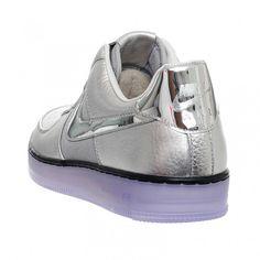"Nike Air Force 1 Downtown ""Metallic Silver"" | NiceKicks.com"