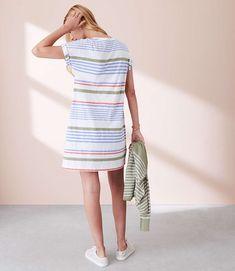Lou & Grey Stripewash Tee Dress | LOFT