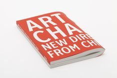 Hayward Gallery Art of Change: New Directions from China Catalogue