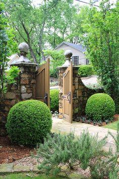 Garden Gate ♡ ~Rustic Living ~GJ *  Kijk ook eens op mijn blog: www.rusticlivingbygj.blogspot.nl