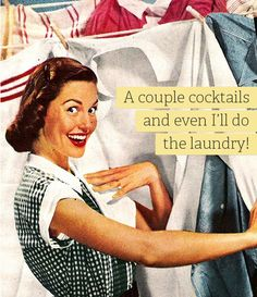 Laugh at these funny Housewife Memes. Retro Humor, Vintage Humor, Vintage Shops, Vintage Wife, Vintage Art, Vintage Ladies, E Cards, Laundry Meme, Laundry Room