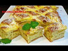 CIASTO Z JABŁKAMI I BUDYNIEM- #ciasto #jabłka #szybkieciasto - YouTube French Toast, Sandwiches, Breakfast, Food, Youtube, Liquor, Morning Coffee, Meals, Yemek