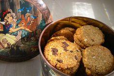 Μπισκότα με ταχίνι, μέλι και βρώμη