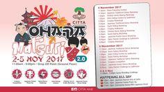 The Ohara Matsuri 2.0 by CITTA Mall http://ift.tt/2lt2FpO