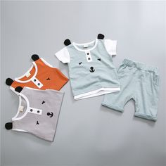 >> Click to Buy << Bergawa Casual Summer Infants Boys Baby Printed Letter Cotton T-Shirt Tops+Shorts Pants 2pcs Clothes Sets Suit Tracksuit MT1225 #Affiliate