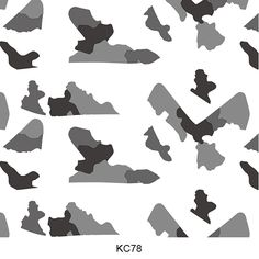 Hydro dipping film camouflage pattern KC78