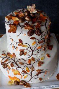 Cake Wrecks - Home - Trend Pretty Cakes 2019 Pretty Cakes, Beautiful Cakes, Amazing Cakes, Halloween Wedding Cakes, Fall Wedding Cakes, Autumn Wedding Invitations, Wedding Stationery, Cupcake Wedding, Cake Wrecks