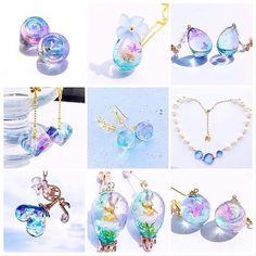 "Ephemeral Waltz""eerie-poupée""さん(@eerie_poupee) • Instagram写真と動画 Kawaii Jewelry, Cute Jewelry, Jewel Tone Bedroom, Diy Resin Crafts, Resin Charms, Cute Necklace, Fantasy Jewelry, Jewel Tones, Crystals And Gemstones"