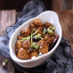 Stir Fried Chicken in soy sauce