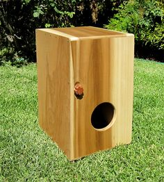 Custom Cajon Box Drum Beat Box and Artwork by DeadTreeDesign