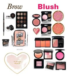"""Brow and blush"" by mrh25 on Polyvore featuring beauty, Anastasia Beverly Hills, NARS Cosmetics, Benefit, Anastasia, Chanel, Milani, Christian Dior, MAC Cosmetics and Bobbi Brown Cosmetics"
