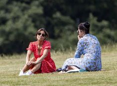 CelebPot: Melanie Sykes in a Bright Red Summery Dress in Primrose hill Park Melanie Sykes, Chanel West Coast, Hill Park, See Through Dress, Crazy Horse, Anniversary Parties, Kylie Jenner, Rihanna, Playboy