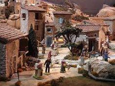 """Résultat de recherche d'images pour """"modele de creche et decoration village de noel"""""""
