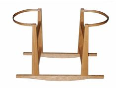 Moses Basket Rocking Stand in Natural
