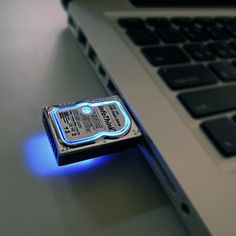 Mini Hard Disk Flash Drive --- (So cute!)
