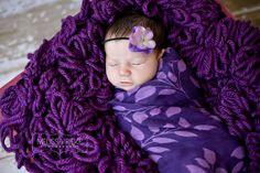 Boa Newborn Baby Photo Prop Boa Basket Filler Photography Prop Textured Baby Blanket Basket Stuffer  Purple Boa Blanket. $50.00, via Etsy.