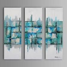 """Résultat de recherche d'images pour """"peinture abstraite 3 canevas"""""""