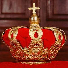 Spain 1775 - The Spanish royal crown, known as crown of Alfonso of Spain has been used in proclamation ceremonies since the 18th century. The last Spanish king being solemnly crowned was John I of Castile (August 24, 1358 - October 9, 1390). This crown was made in 1775, during the reign of Carlos III (January 20, 1716 - December 14, 1788),